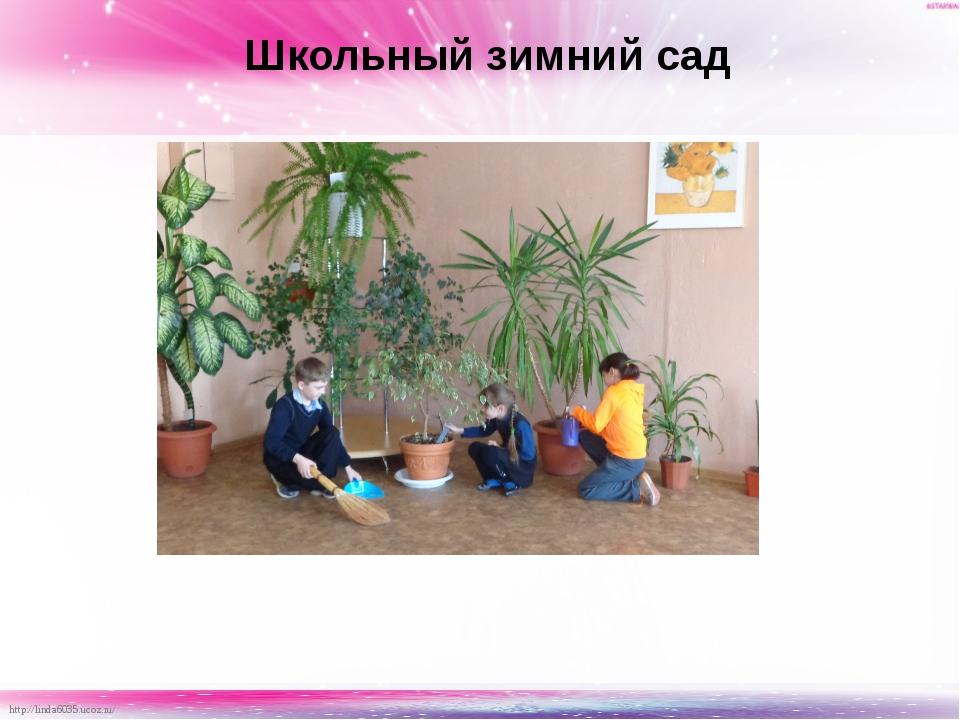 Школьный зимний сад http://linda6035.ucoz.ru/