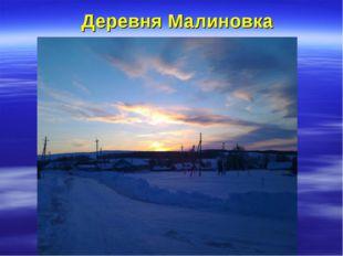 Деревня Малиновка