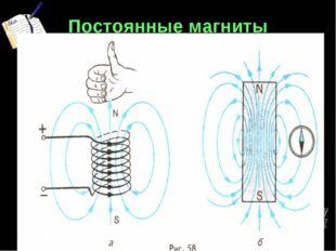 Постоянные магниты §59 Спектр магнитных линий