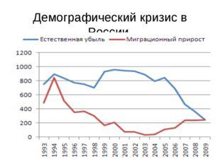 Демографический кризис в России