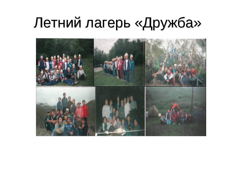 Летний лагерь «Дружба»