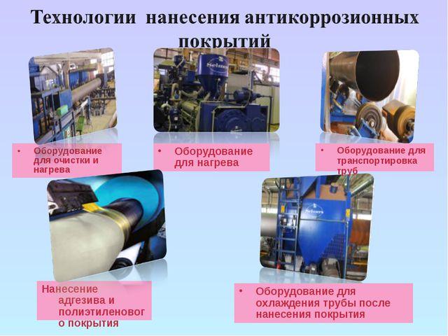 Оборудование для очистки и нагрева Оборудование для охлаждения трубы после на...