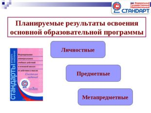 Планируемые результаты освоения основной образовательной программы Личностные