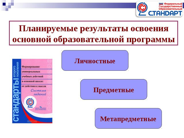 Планируемые результаты освоения основной образовательной программы Личностные...