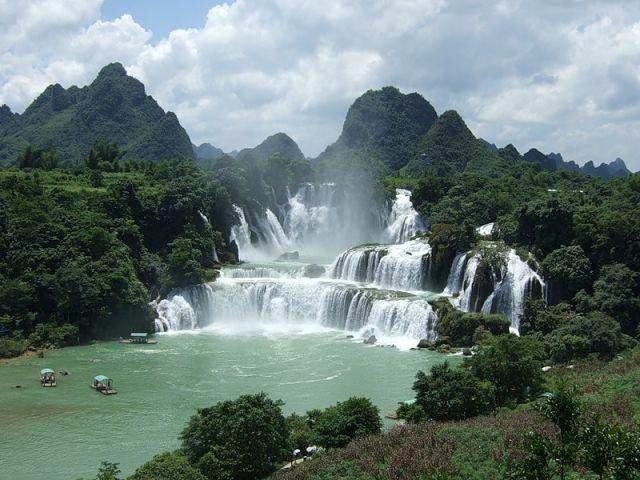 самые красивые водопады мира фото Красивые фото
