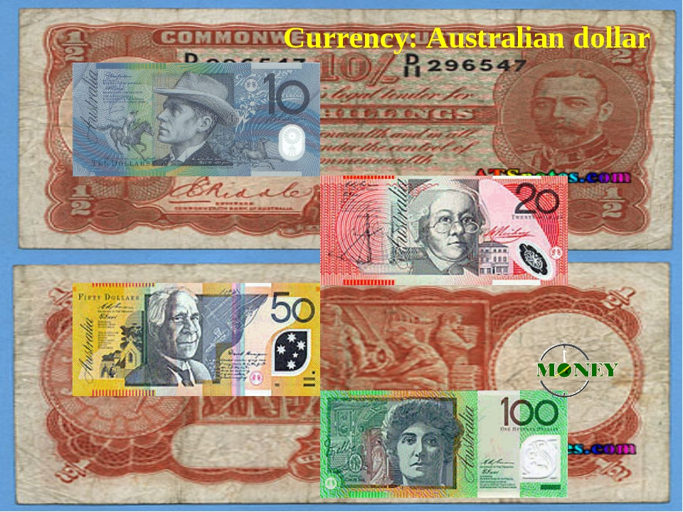 Australian one-hundred dollar banknotes