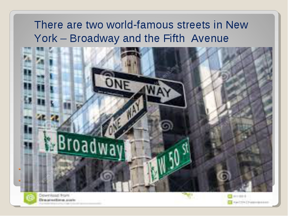 There are two world-famous streets in New York – Broadway and The Fifth Avenu...