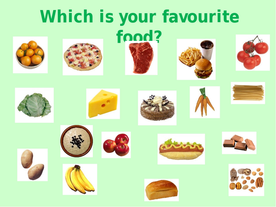 Which is your favourite food?