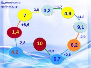 4,2 -2,8 1,4 +5,6 7 -3,8 3,2 +1,7 4,9 +4,2 9,1 -2,9 6,2 +0,5 6,7 +3,3 10 Выпо