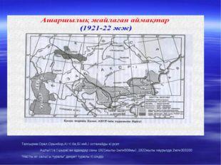 Тапсырма:Орал,Орынбор,Ақтөбе,Бөкей,Қостанайды көрсет Аштыққа ұшыраған адамдар