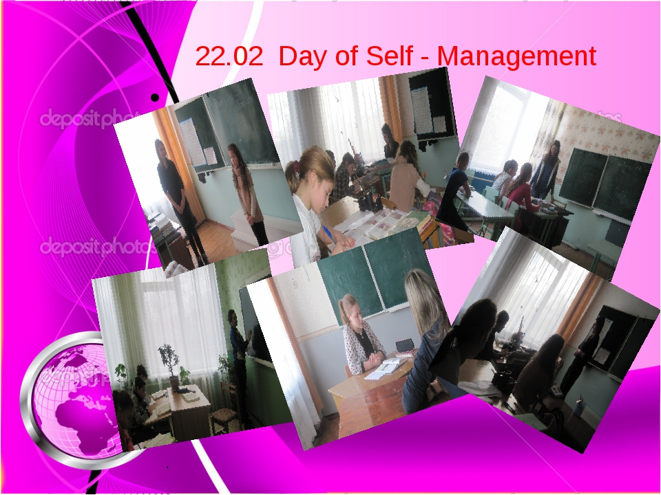 22.02 Day of Self - Management