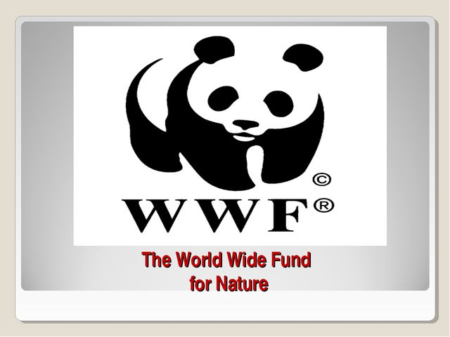 The World Wide Fund for Nature