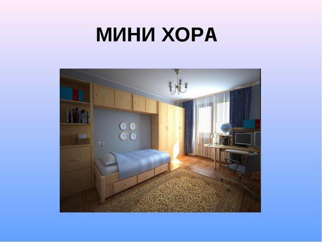 МИНИ ХОРА