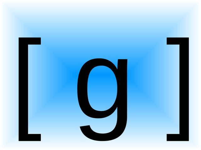 [ g ]