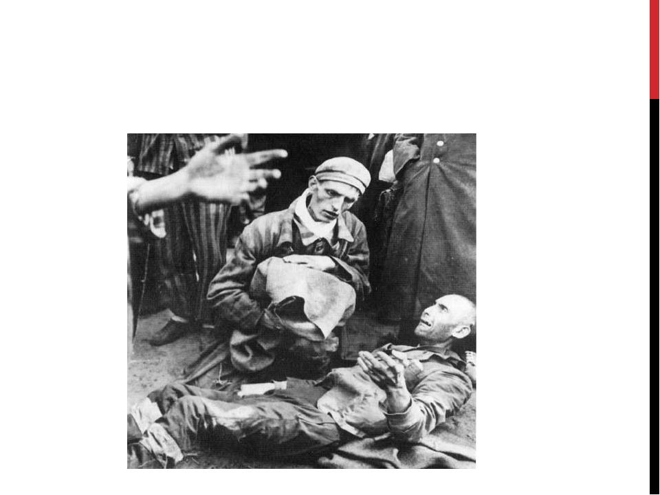Одним из способов применявшийся немцами для уничтожения заключенных назывался...