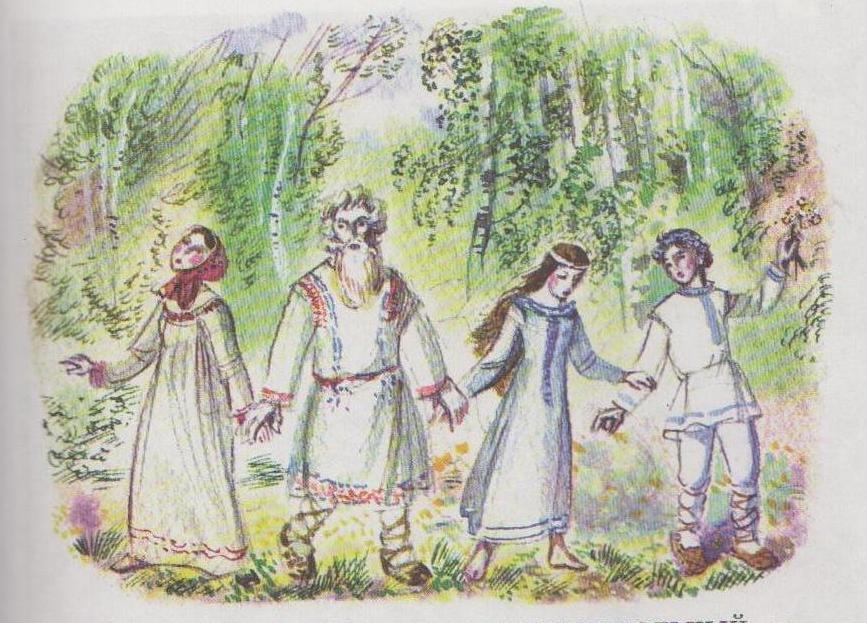 иллюстрации к опере снегурочка римский корсаков