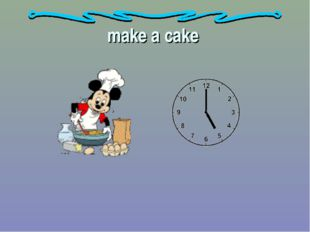 make a cake