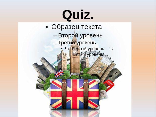 Quiz.