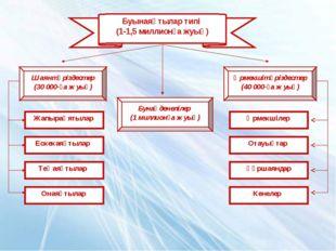 Буынаяқтылар типі (1-1,5 миллионға жуық) Шаянтәріздестер (30 000-ға жуық) Жап