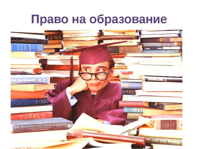 Право на образование право на получение бесплатного начального или среднего о...