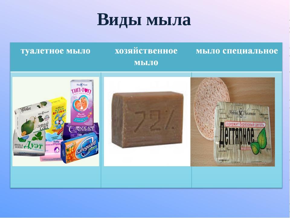 И чего делают хозяйственное мыло