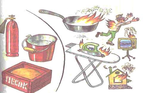 Пожар в жилище