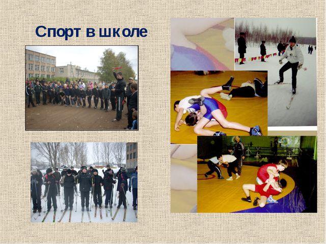 Спорт в школе