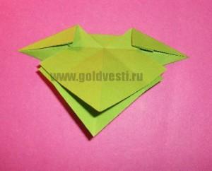Поделка из бумаги бантик