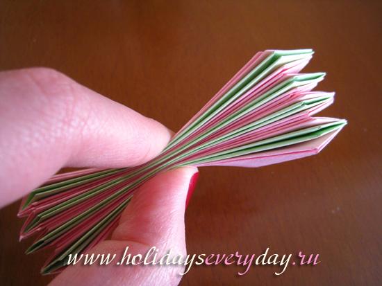 мастер-класс оригами цветок лотоса