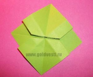 Бантик оригами пошагово