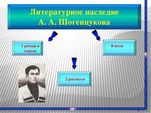 Литературное наследие А. А. Шогенцукова 9 произведении переведенных с русско
