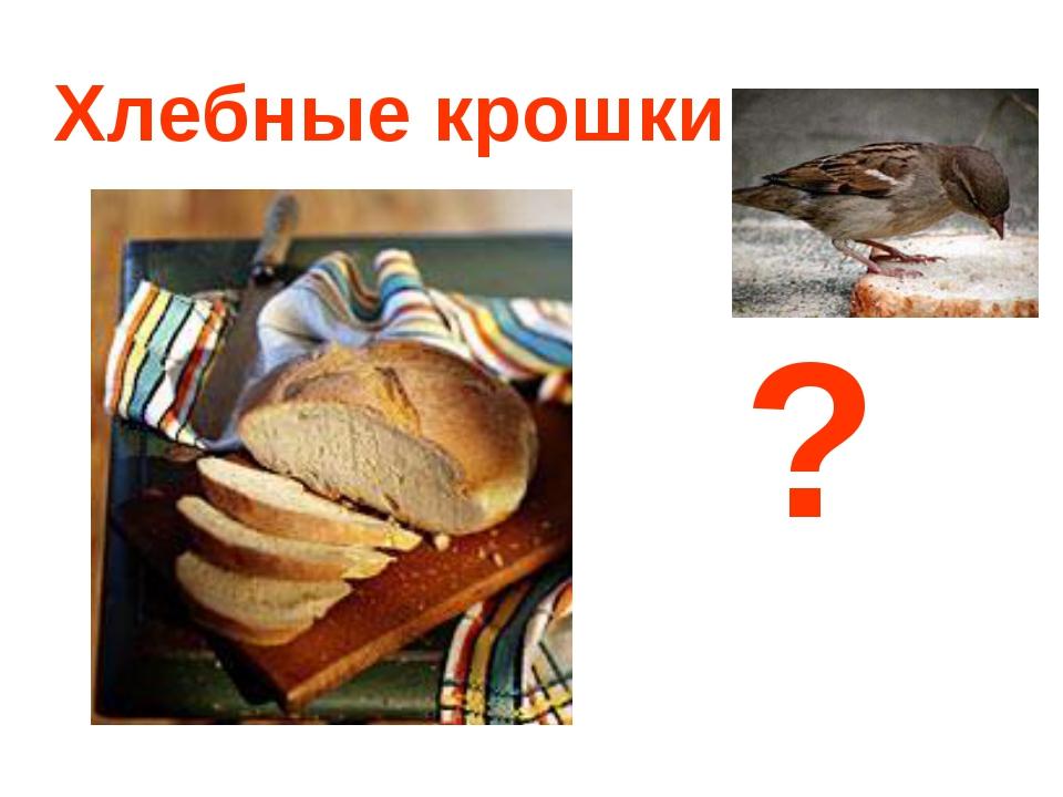 Хлебные крошки ?