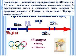 Хронология Олимпийских игр Самые ранние Олимпийские игры, упоминание о которы