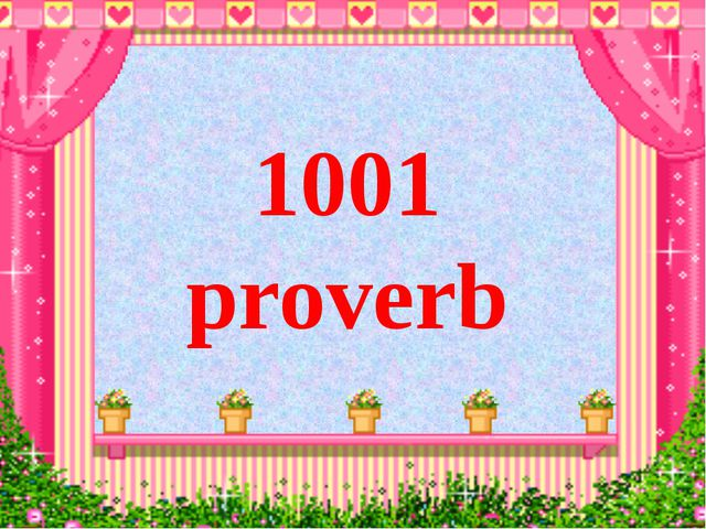 1001 proverb