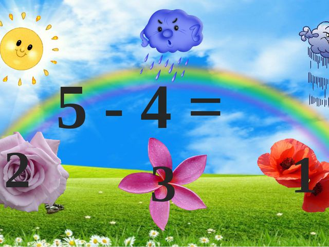 5 - 4 = 2 3 1