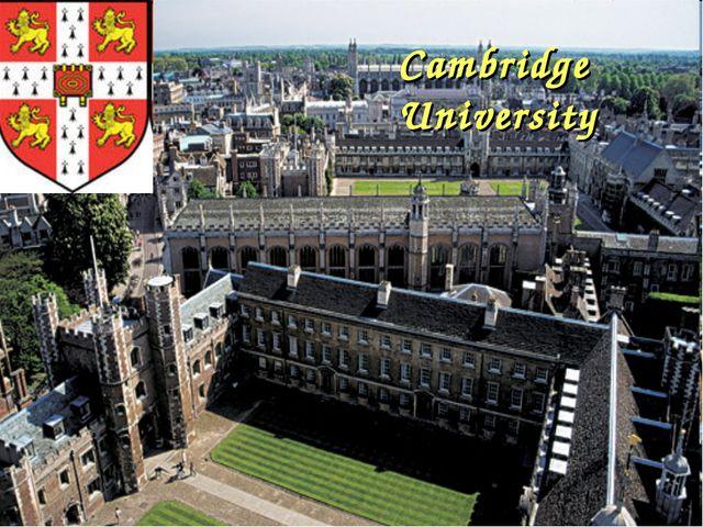 Cambridge Cambridge University