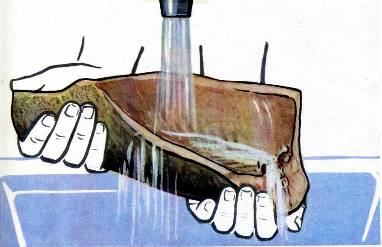 схема обработки говяжьих голов