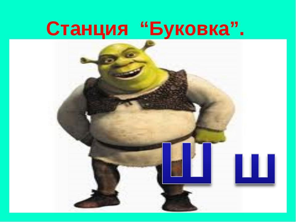 "Станция ""Буковка""."