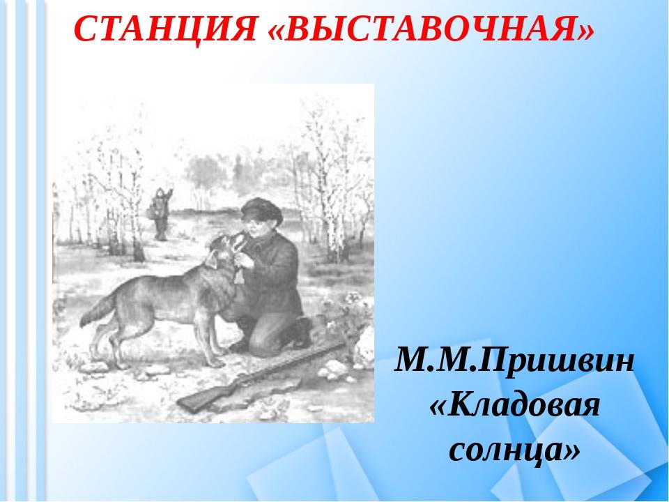 СТАНЦИЯ «ВЫСТАВОЧНАЯ» М.М.Пришвин «Кладовая солнца»
