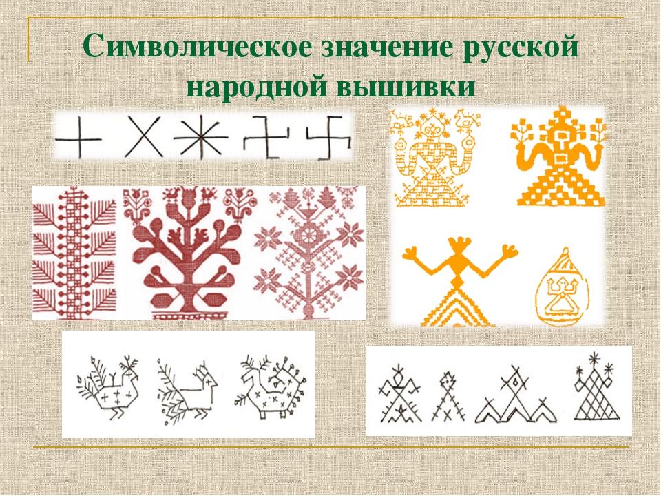 Вышивка и символика русского 25