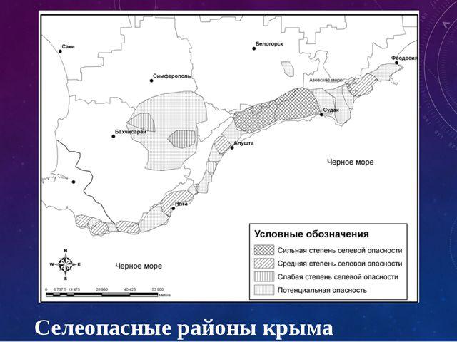 Селеопасные районы крыма