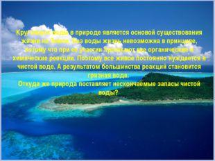 Круговорот воды в природе является основой существования жизни на Земле. Без
