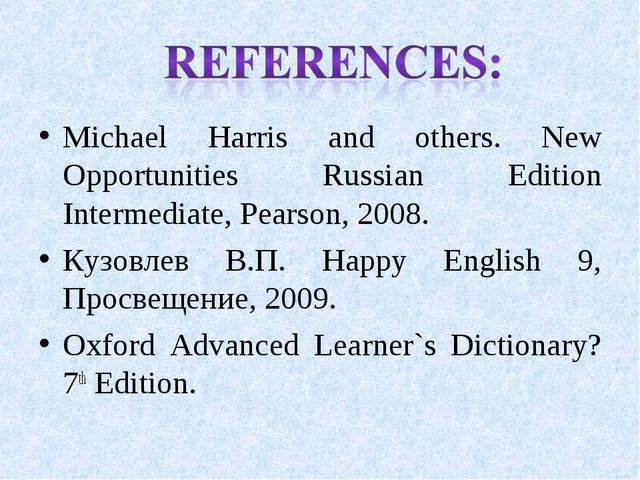 Michael Harris and others. New Opportunities Russian Edition Intermediate, Pe...