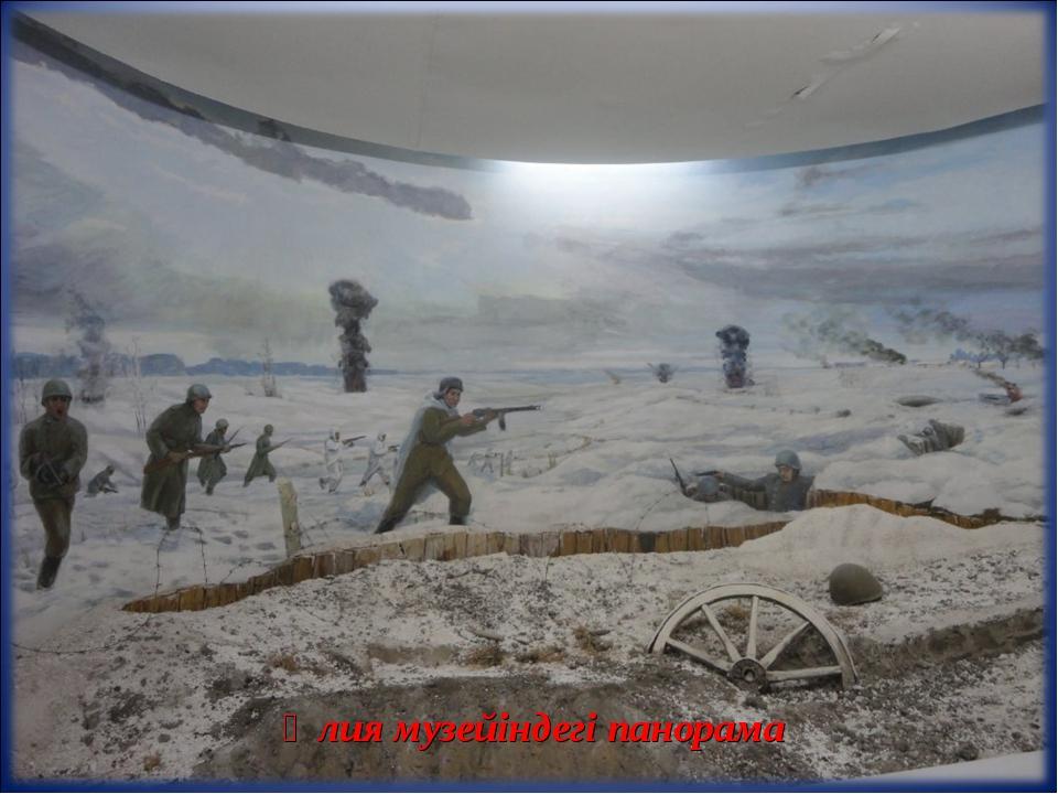 Әлия музейіндегі панорама