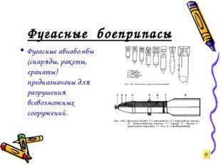 Фугасные боеприпасы Фугасные авиабомбы (снаряды, ракеты, гранаты) предназначе