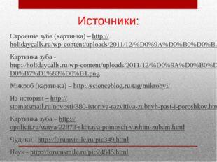 Источники: Строение зуба (картинка) – http://holidaycalls.ru/wp-content/uploa