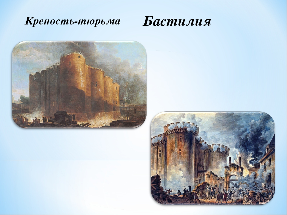 Крепость-тюрьма Бастилия