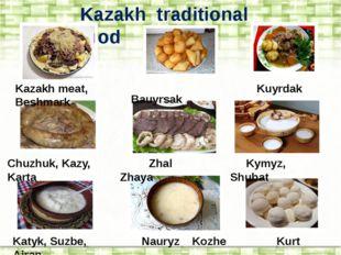 Kazakh traditional food Kazakh meat, Beshmark Bauyrsak Kuyrdak Chuzhuk, Kazy,