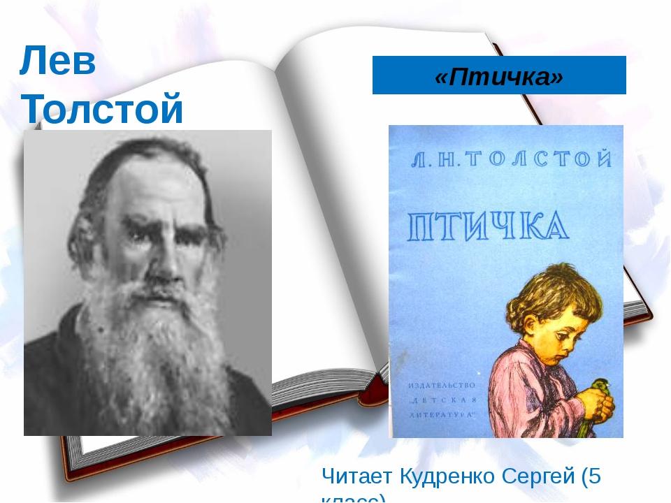 Лев Толстой «Птичка» Читает Кудренко Сергей (5 класс)