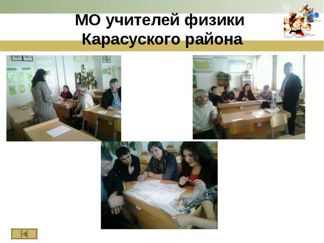 МО учителей физики Карасуского района www.themegallery.com